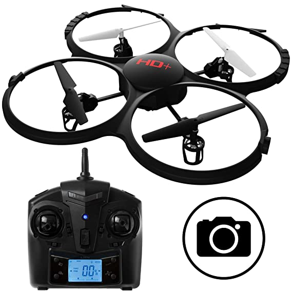 Force1 UDI RC U818A Discovery RC Drone