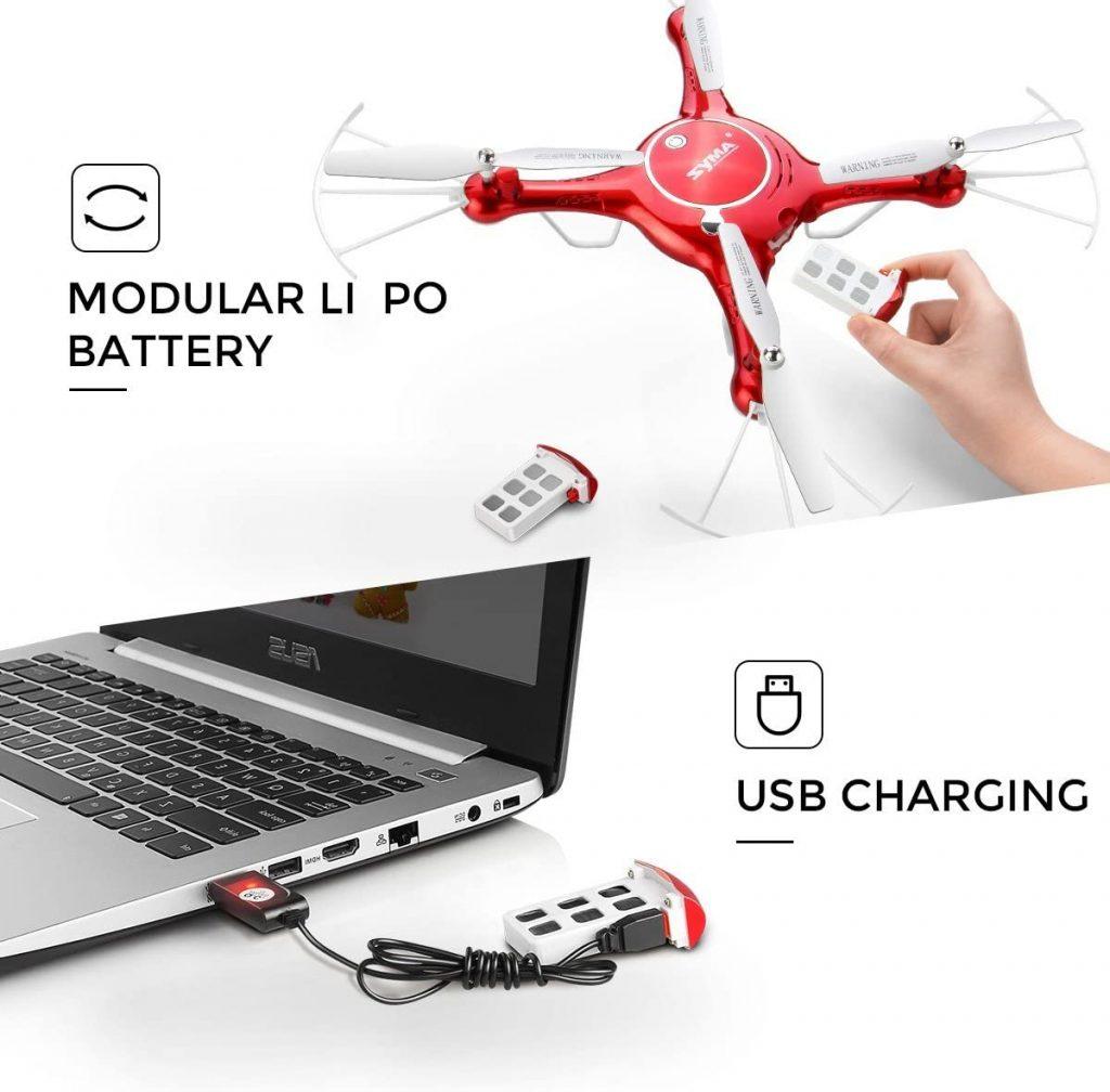 SYMA X5UW Drone Specifications